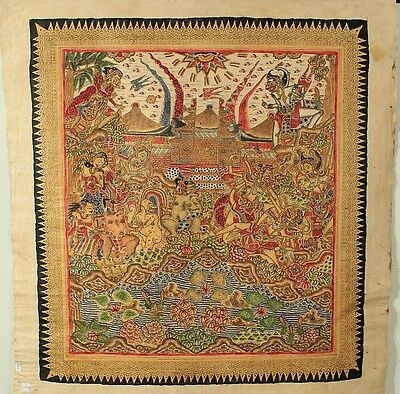 Traditionelle Malerei Bali traditional painting Kamasan K7