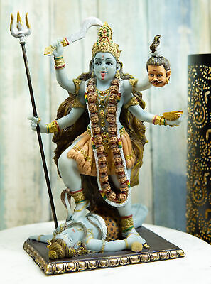 Religious Decoration Hindu Goddess of Death Kali Figurine Statue Time & Change