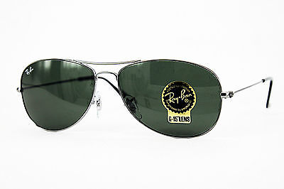 Ray Ban Sonnenbrille/Sunglasses COCKPIT RB3362 004 59[]14 135 3N inkl. Etui # *