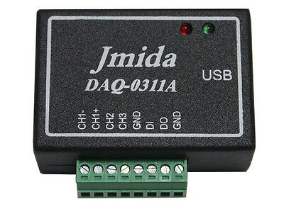 Multifunction USB Data Acquisition Module DAQ 16-Bit w/ Software and Drivers