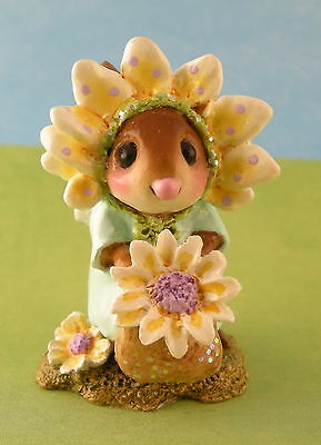 MARY MARY QUITE CONTRARY by Wee Forest Folk, Yellow, Mouse Expo 2012 Event Piece