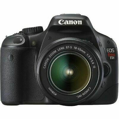 Canon EOS 550D 18 MP CMOS APS-C DSLR Camera with EF-S 18-55mm f/3.5-5.6 IS Lens