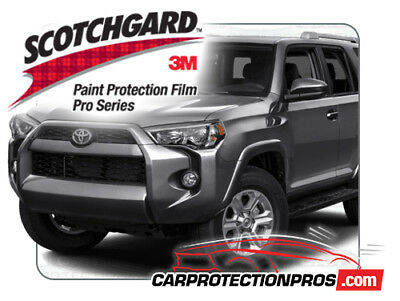 2015 Toyota 4Runner SR5 Trail 3MScotchgard Paint Protection Clear Bra Deluxe Kit