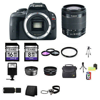 CANON EOS REBEL SL1 EF-S 18-55mm IS STM Kit - $450.00 | PicClick