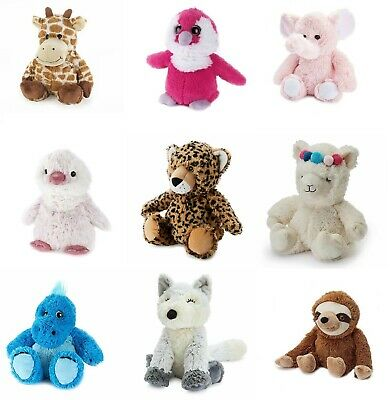 Intelex Warmies Cozy Microwaveable Lavender Scented Soft Toy  - Various Animals