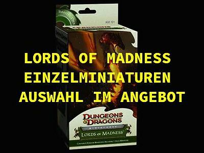 Wizards of the Coast Dungeons & Dragons LORDS of MADNESS Miniaturen *AUSWAHL*