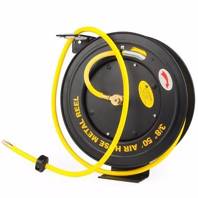 "Neilsen 1//2/"" id 9mtr 30ft Retractable Air Hose Reel  CT1534"