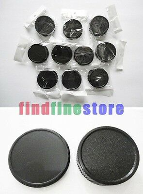 10x Rear lens and Body cap cover for M42 42mm screw mount Wholesale lots 10 pcs