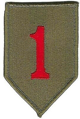 Us Army 1St Infantry Division Patch - Full Color