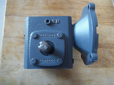 New Boston Gear 700 Series Worm Gear Right Angle Reducer 25:1 Ratio Sf718W50Nb5J