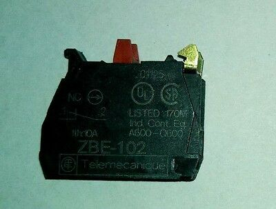 Square D/Telemechanique contact block add on (ZBE102)