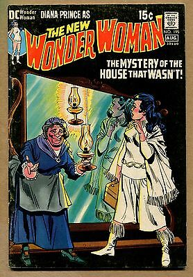 Wonder Woman #195 - The Mystery of the House That Wasn't! - 1971 (Grade 5.0) WH