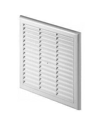 Air Vent Grille with Adjustable Shutter and Fly Screen / Anti-Insect Mesh TK