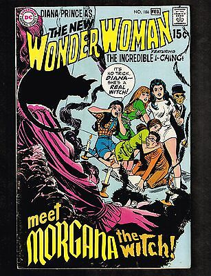 Wonder Woman #186 ~ Morgana the Witch ~ 1970 (6.5) WH
