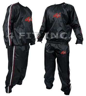 4FIT Heavy Duty Sweat Suit Sauna Exercise Gym Suit Fitness, Weight Loss, AntiRip