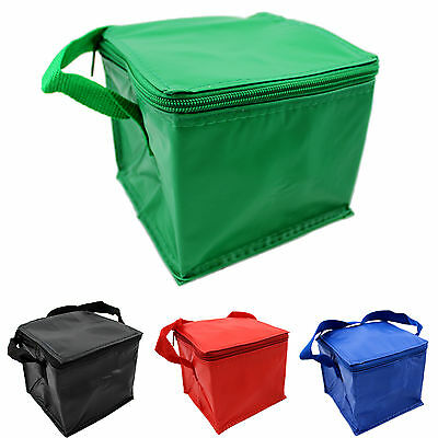 Cool Bag Mini 4 Can Insulated Thermo Snack Sandwich Lunch School Work Cooler
