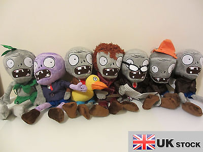 Plants vs Zombies plush in Zombies more choice in 7 different style UK SELLER