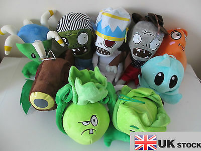NEW Plants vs Zombies 2 plush soft toys in different choices UK SELLER