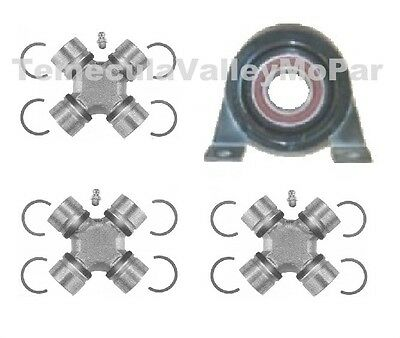 Drive Shaft Center Bearing & U-Joints for 1959-1966 Imperial