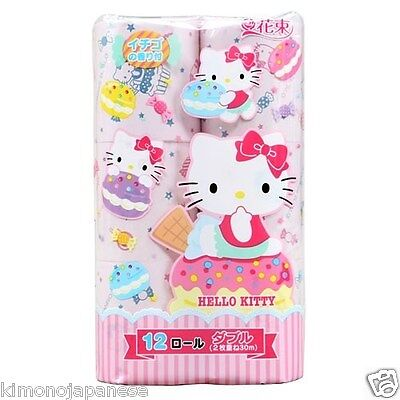 Rarest! Hello Kity-Print bathroom tissue paper only from Japan