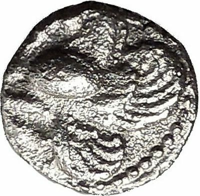 LAMPSAKOS in MYSIA 500BC Pegasus winged Horse Ancient Silver Greek Coin i38598