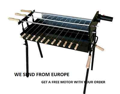 Foukou Cyprus Made Original Barbecue LARGE Traditional GreekCypriot Charcoal BBQ