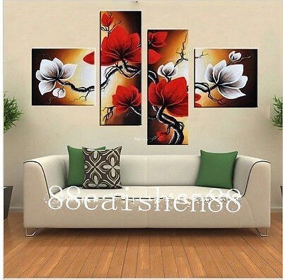 Details about  Large Handmade Modern Canvas Oil Painting Wall Art(no framed)Larg
