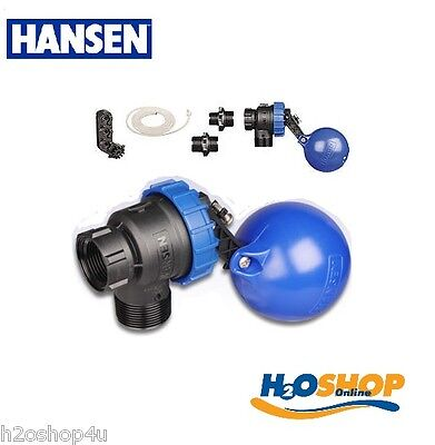 Hansen Max Flo Trough &Tank Level Valve,Float Valve