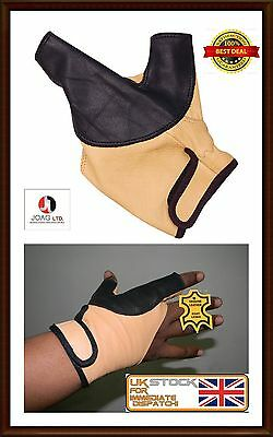 Bow Glove Left Hand & Right Hand ( Black &  Beige) All size available---
