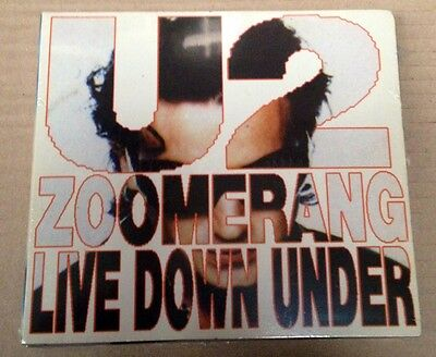 U2 - ZOOMERANG LIVE DOWN UNDER - 2 CD DIGIPACK LIVE '93 NO CDr CON SIAE - SEALED