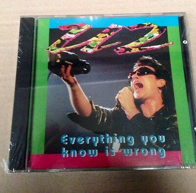 U2 - EVERYTHING YOU KNOW IS WRONG - CD LIVE in LONDON - NO CDr CON SIAE - SEALED