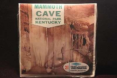 Mammoth Cave Nat'l Pk Kentucky Viewmaster 1960's  FACTORY SEALED