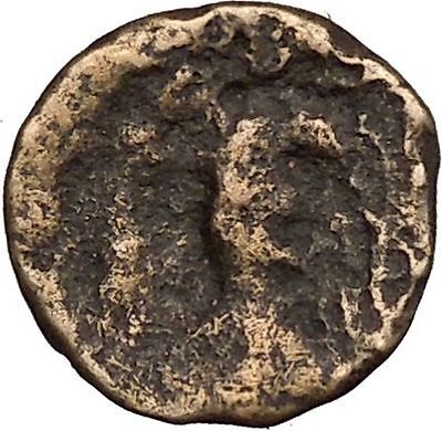 Chalkis in Euboea 300BC Greek Coin Hera sister and wife of Zeus  Eagle  i38733