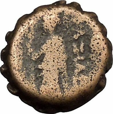 ANTIOCHOS IV EPIPHANES 175BC Ancient Seleucid Greek Coin Veiled goddess  i38738