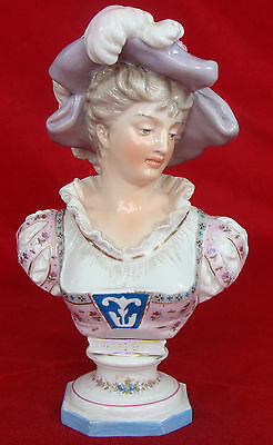 Rare Antique  German Meissen Kpm Porcelain Figurine