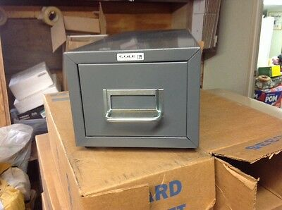 """Cole Card File - 3""""x5"""" Model C335 New Old Stock"""