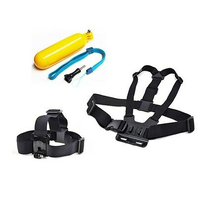 Chest Mount Head Floating Handle Grip Accessories For GoPro Hero 2 3 4 5 Camera
