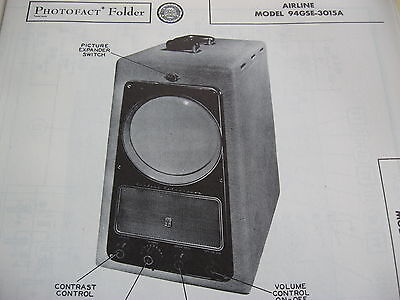 Airline 94Gse-3015A Television  Photofact