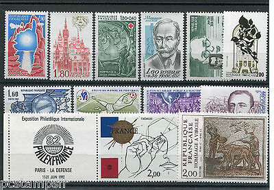 FRANCE - LOT timbres années '80, neufs**, LUXE