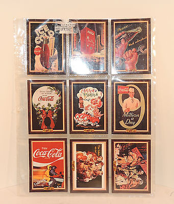 1994 The Coca Cola Collection Series 3 cards set of 9 (6109)