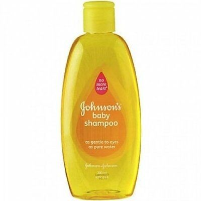 Johnson And Johnson Baby Gold Shampoo 200ml