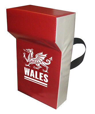 Wales  Professional Grade Personalised Tackle Wedge Hit Shield