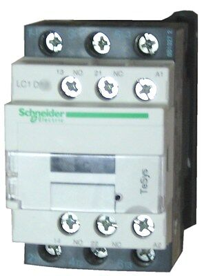 Schneider Electric LC1D18 F7 18 AMP contactor - 110v AC coil