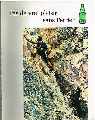 Publicité Advertising 1971 Perrier