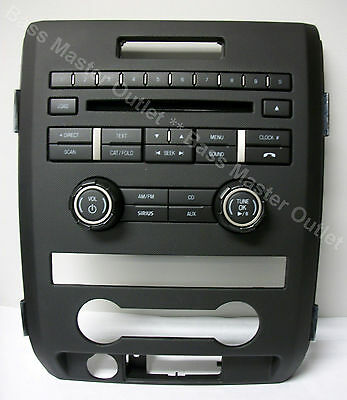 FREE SHIPPING * 2011 FORD F150 BL3T-18A802-HD Radio CD Sirius Control Panel