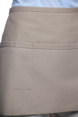 Daystar Aprons 1 Style 100PD three pocket waist apron w pencil pkt ~ Made in USA