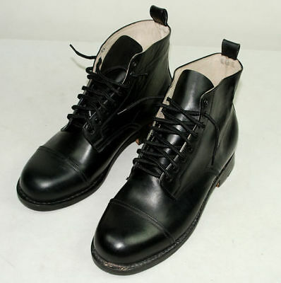 German Combat Low Boots With Horseshoe In Sizes-3444