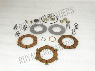 New Vespa Clutch Plate Kit For 6 Springs Vbb/px150/p150/px125 #vp121