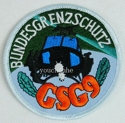 German Gsg9 Border Guard Embroidered Patch -32293