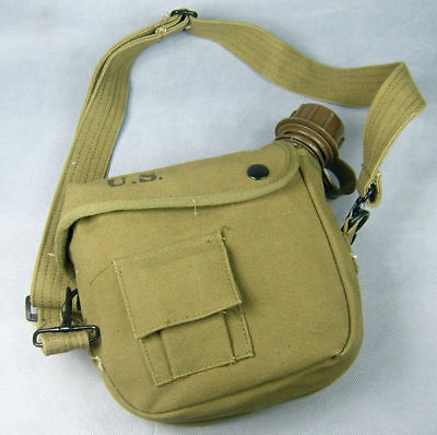 Vietnam War Us Army Canteen And Cover -4537